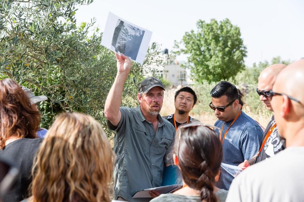 Joel teaching